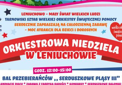 Orkiestrowa niedziela w Leniuchowie